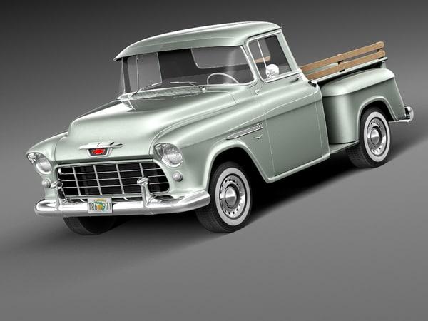 lwo chevrolet pickup 1955 utility