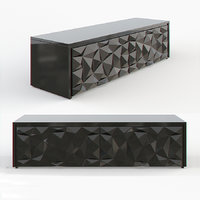3d model fendi cabinet royal