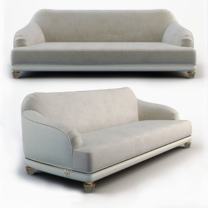 sofa decorative 3d model