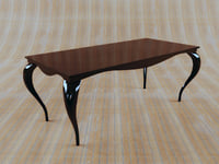 3d photorealistic table model