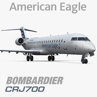 max bombardier crj700 american eagle
