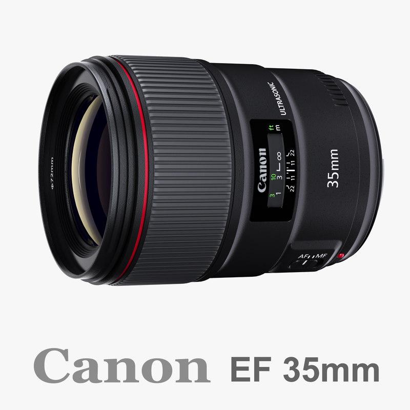 canon ef 35mm f 3d max