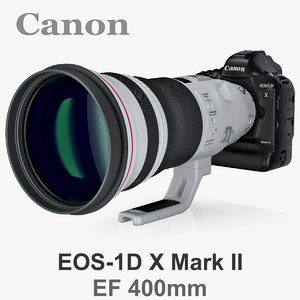 canon eos-1d x mark 3d model