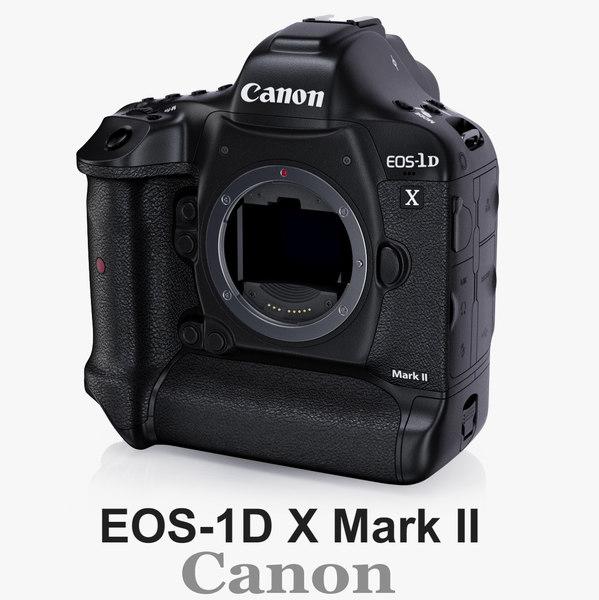 3d canon eos-1d x mark model
