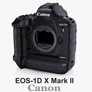 3d canon eos-1d x mark model