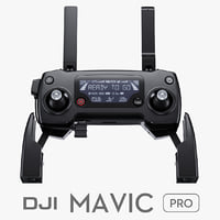 3d model remote controller dji mavic