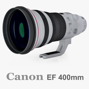 canon ef 400mm f c4d