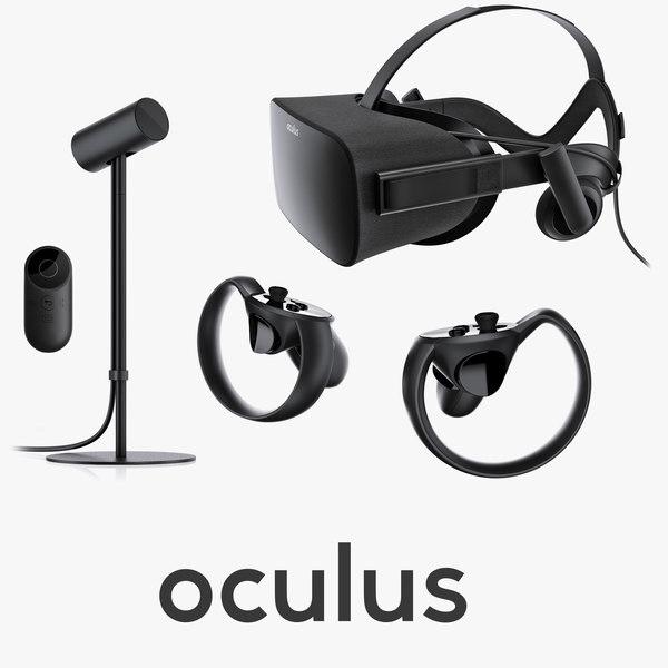 oculus rift vr 3d c4d