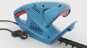 hedge trimmer 3D model