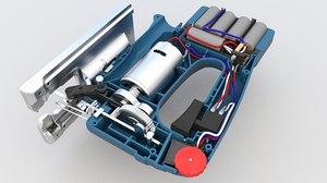 power battery saw 3D