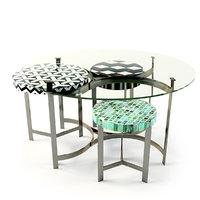 3d kare coffee table musivo model