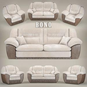 bono chester1 3d max