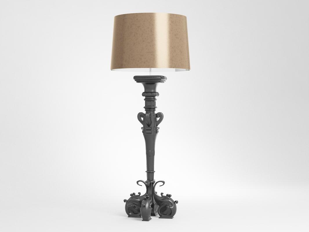 duchesse 4905 chandelier 3d max