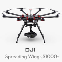 DJI Spreading Wings S1000+ with Canon EOS 5D Mark III