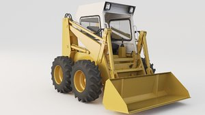 3D skid steer loaders model