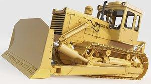 3D bulldozer staliniec t130