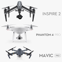 DJI Drones Collection 2017