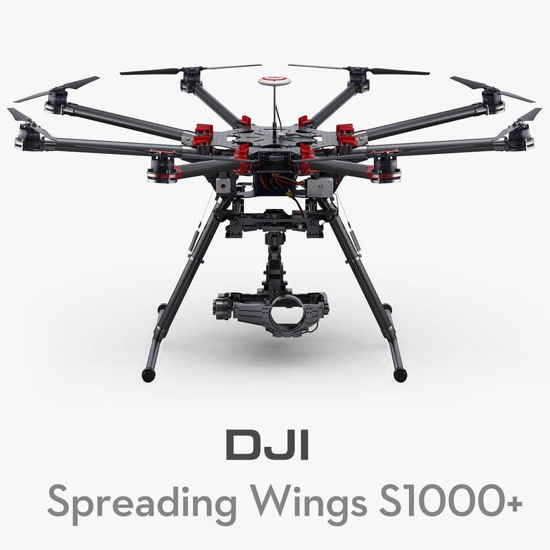 max dji spreading wings s1000