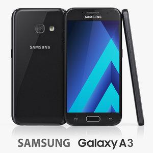 samsung galaxy a3 2017 3d 3ds
