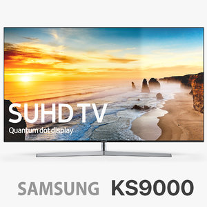 3d model of samsung 4k suhd tv