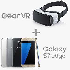 3d model samsung gear vr galaxy