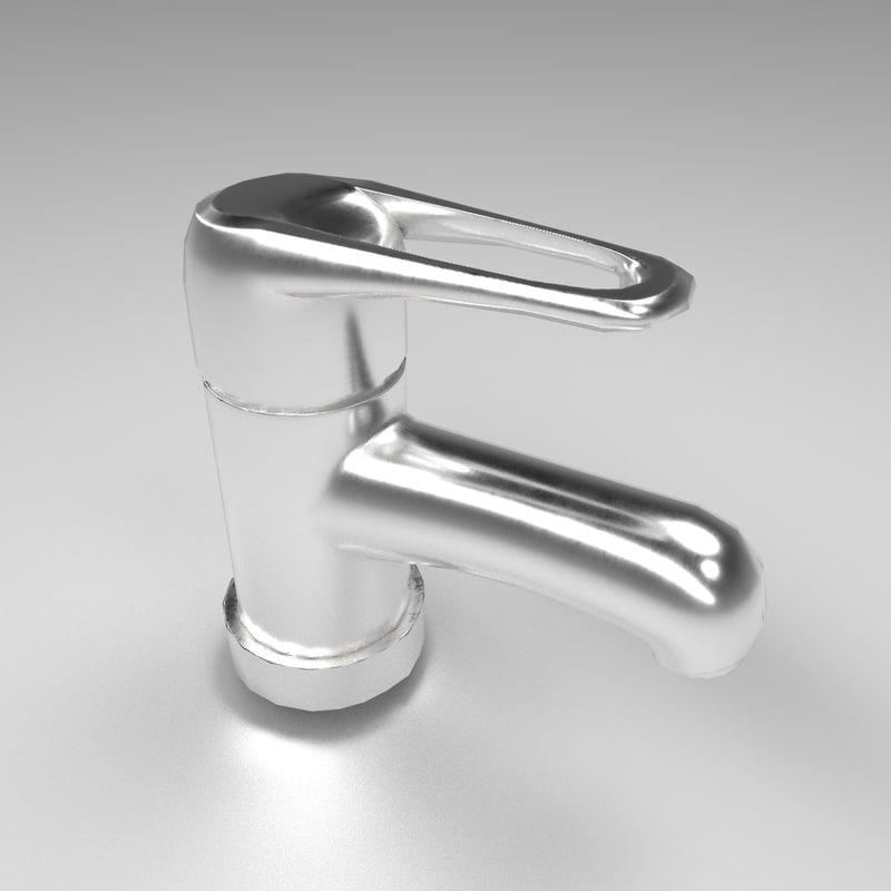 3d model tap mixer