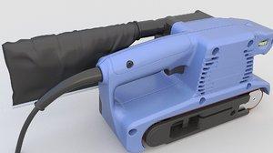 sander belt 3D