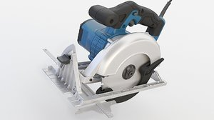 3D model power saw circular