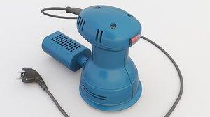 3D model oscillatory grinder tool