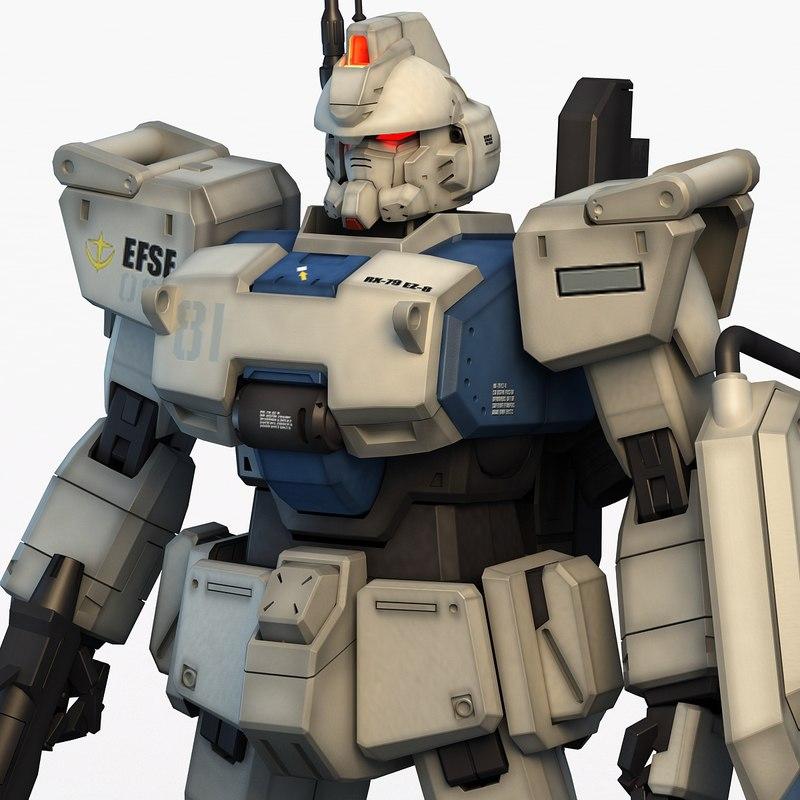 ez-8 gundam 3ds