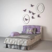 bonne nuit bed obj