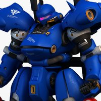 ms-18e kampfer 3d model