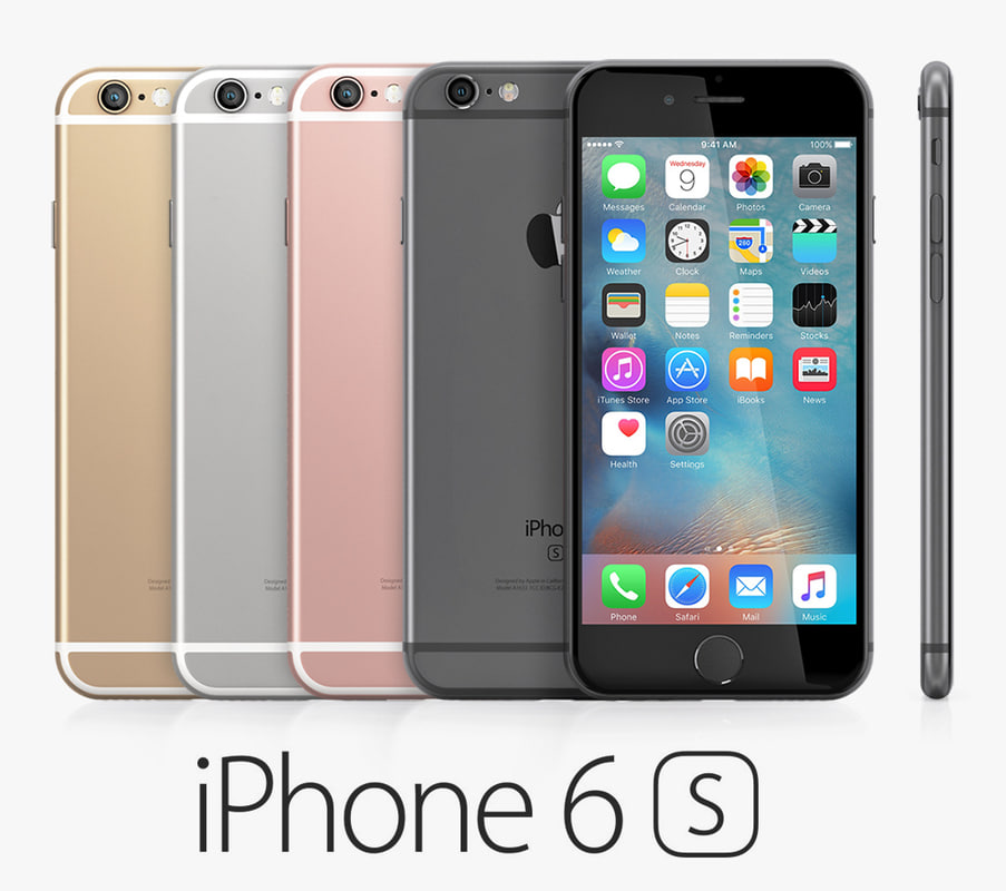 iphone 6s models iphone 6s colors 3d lwo 11486