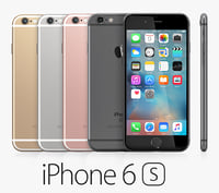 iphone 6s colors 3d lwo
