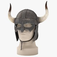 Viking Horned Helmed