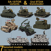 SA-15 variants