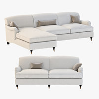 sofa seating 3d model