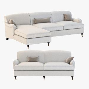 sofa seating 3d model