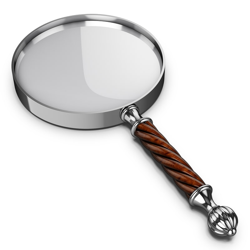 3ds antique magnifying glass