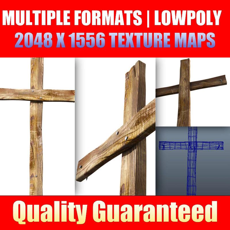 cross church 3d model