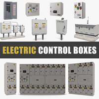 Electric Control Boxes Collection