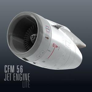 cfm56 jet engine lite lwo