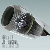 3ds genx-1b jet engine