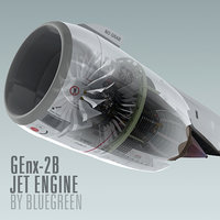 GEnx-2B Jet Engine