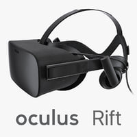 oculus rift headset 3d max