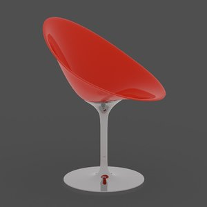 popular interior design chair 3d model