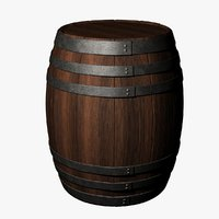 Barrel (UV Mapped)