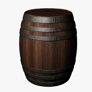 barrel uv mapped dxf