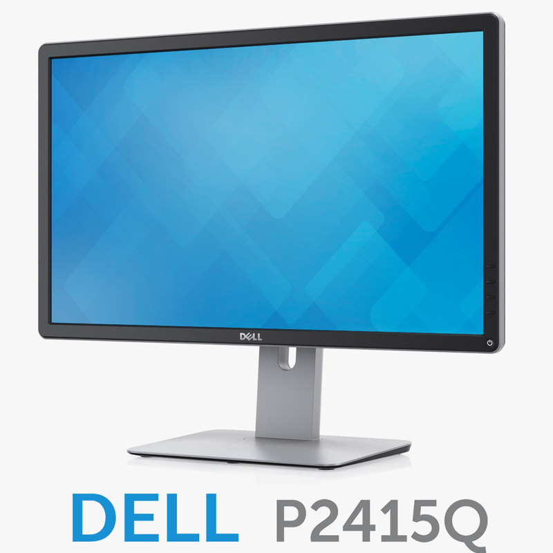 3d model dell 24 ultra hd
