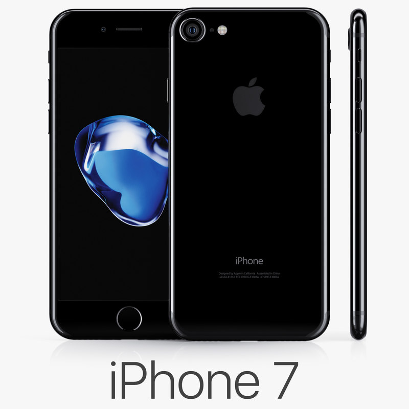 3d apple iphone 7 jet